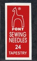 05162 Иглы гобеленовые  Pony, №24