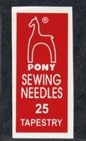 05163 Иглы гобеленовые  Pony, №25