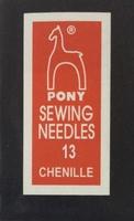 06151 Иглы шенильные Pony, №13