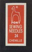 06162 Иглы шенильные Pony, №24