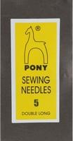 08155 Иглы длинные штопальные Pony, №5, 25 штук