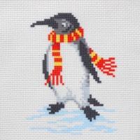 СК1-04 Пингвин. Канва с нанесенным рисунком
