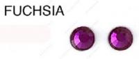 107 MS FUCHSIA стразы DMC+, ss16(3.8-4.0мм) термоклеевые