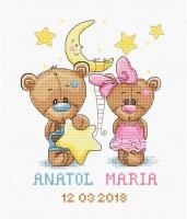 B1148 Анатолий и Мария. Набор для вышивки крестом