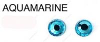 120 MS AQUAMARINE стразы DMC+, ss10(2.7-2.8мм) термоклеевые