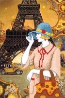 Т2 10 ПУТЕШЕСТВИЕ В ПАРИЖ, Схема для вышивки бисером