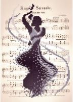 Т2 12 Романтик. Танец, Схема для вышивки бисером