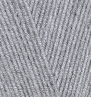 Alize Lanagold 800 - 21 серый меланж