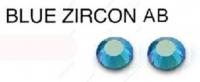 229 AB BLUE ZIRCON AB стразы DMC+, ss16(3.8-4.0мм) термоклеевые