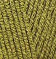 Alize Lanagold 233 зеленая черепаха