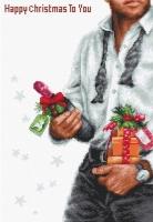 B2339 Счастливое Рождество. Набор для вышивки крестом