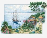 B2343 Морской пейзаж. Набор для вышивки крестом