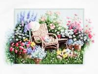 B2344 Цветущий сад. Набор для вышивки крестом