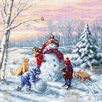 B2358 Счастливоe Рождествo. Набор для вышивки крестом