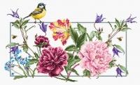 BA2359 Весенние цветы. Набор для вышивки крестом