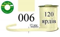 КБА-006 Косая бейка атласная Peri 15 мм