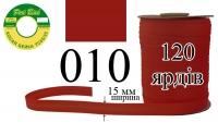 КБМ-010 Косая бейка матовая Peri 15 мм