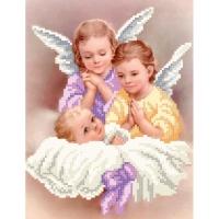 NB3-123 Ангелочки, Набор для вышивки бисером