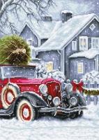 BU4010 Зимние праздники. Набор для вышивки крестом