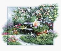 BU4012 Цветущий сад. Набор для вышивки крестом