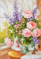 BU4016 Цветы у окна. Набор для вышивки крестом