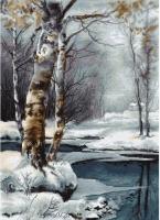 B560 Зима. Набор для вышивки крестом