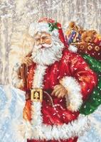B575 Дед Мороз. Набор для вышивки крестом
