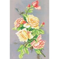 НБ6 43 Ночные розы, Набор для вышивки бисером
