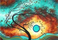 Набір для творчості зі стразами на підрамнику Вітер надії 40*50 см