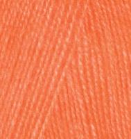 Alize Angora Real 40 - 654 оранжевый неон