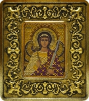 701104 Ангел Хранитель (золото, лилии)