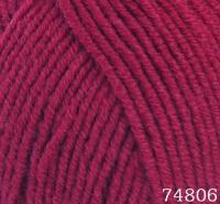 Himalaya Lana Lux 74806 бордовый
