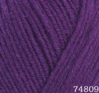 Himalaya Lana Lux 74809 фиолетовый