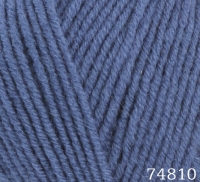 Himalaya Lana Lux 74810 голубой джинс