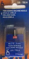 94604 Машинные иглы Pony №80, двойная (3 мм)