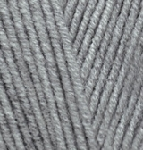 Alize Lanagold 21 серый меланж