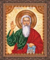 AA-002 Святой Андрей. Набор для вышивки бисером, холст