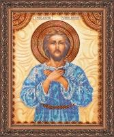AA-003 Святой Алексей. Набор для вышивки бисером, холст