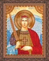AA-010 Святой Михаил. Набор для вышивки бисером, холст