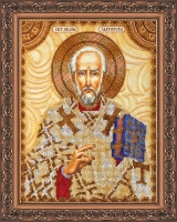 AA-013 Святой Иоанн (Иван). Набор для вышивки бисером, холст