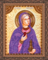 AA-014 Святая Мария. Набор для вышивки бисером, холст