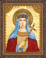 AA-023 Святая Екатерина. Набор для вышивки бисером, холст