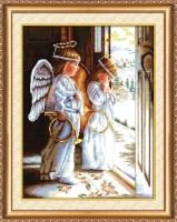 AH-001 Ангелы. Набор для вышивки крестом