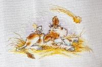 B1057 Рождественская история. Набор для вышивки крестом