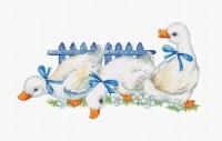 B1143 Три гуся. Набор для вышивки крестом