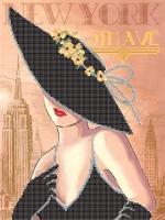 Т2 07 НЬЮ-ЙОРК, Схема для вышивки бисером