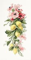 B210 Цветы и лимоны. Набор для вышивки крестом