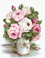 BA2329 Смешанные розы. Набор для вышивки крестом