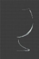 B284 Бокал. Набор для вышивки крестом