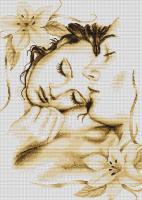 B295 Влюблённая пара. Набор для вышивки крестом